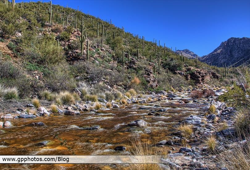 Bear Canyon Sabino Canyon Seven Falls, Tucson, AZ - www.gpphotos.com/Blog - Glenn Peterson Photography