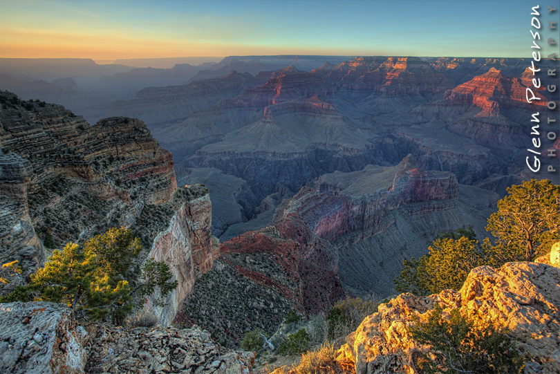 South Rim Grand Canyon AZ - www.gpphotos.com/Blog - Glenn Peterson Photography