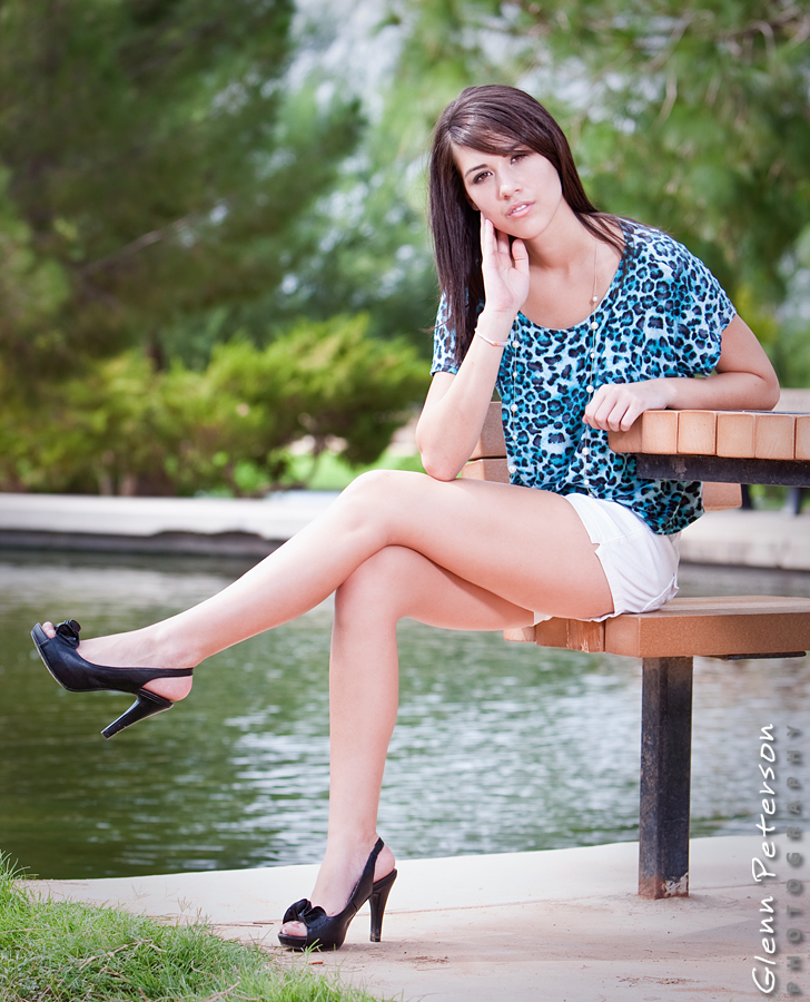 Session with Larissa at Freestone Park, Gilbert, AZ - www.gpphotos.com/Blog - Glenn Peterson Photography